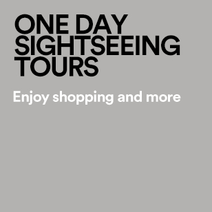 ONE DAY SIGHTSEEING TOURS Enjoy shopping and more