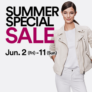 SUMMER SPECIAL SALE Jun. 2(Fri)- 11(Sun)