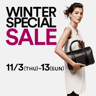 WINTER SPECIAL SALE 11/3(THU)-13(SUN)