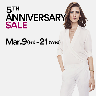 5TH ANNIVERSARY SALE Mar.9(Fri)-21(Wed)