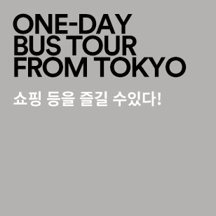 ONE-DAY BUS TOUR FROM TOKYO Enjoy shopping and more!