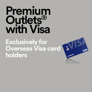 Premium Outlets with Visa